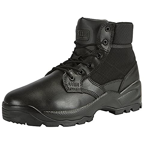 5.11 Tactical Speed 2.0 8 Inch Side Zip Military Boots - Black - UK 9