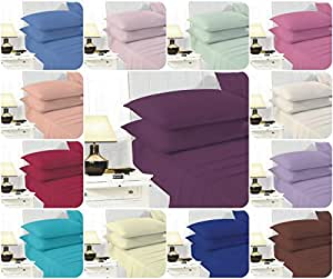 new ultrafresh non iron extra deep 16 inch fitted bed sheets percale quality for thick. Black Bedroom Furniture Sets. Home Design Ideas