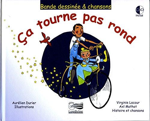 Ça tourne pas rond (livre + 1CD audio) d'occasion  Livré partout en Belgique
