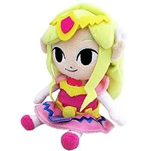 Peluche Zelda Princesse Zelda 17 cm / l'unité
