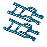BQLZR Blau RC 1:10 Aluminium Alloy 108019 Front Lower Suspension Arm f¨¹r HSP 94108 Model Car Upgrade-Sets 2er Pack