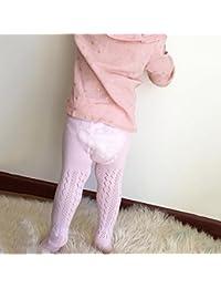 Hibote Ultrathin Medias de bebé niña algodón peinado mallas de verano antimosquitos