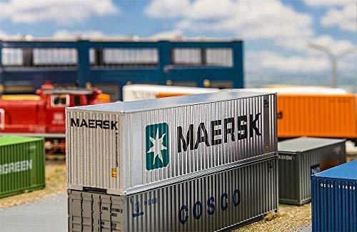 Faller FA 180840-40Hi de Cube Contenedor maersk, Accesorios para el diseño de ferrocarril, Modelo...