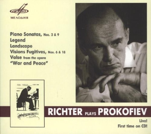 Richter plays Prokofiev : Piano Sonatas / Legend / Landscape / Visions Fugitives / Valse