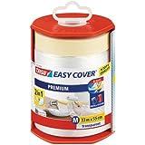 Tesa Easy Cover Premium M Ruban de masquage avec dérouleur/bâche 33 m x 550 mm
