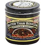 Better Than Bouillon - Sodio reducido base de la carne de vaca - 8 oz.