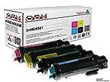 Sparset 4x kompatibler XL Toner für Dell H625cdw H825 H825cdw S2825cdn schwarz cyan magenta gelb
