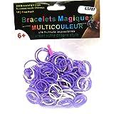 Les Trésors De Lily [L5787] - Webstühle lila oder weiße magie armbänder.