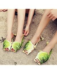 Vi.yo Sandalias Imitación pescado Imitación Playa Antideslizante chancletas Ocio verano Mujer 42EU