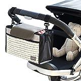Bolso de almacenamiento del organizador del carro del bebé, Sunbeter bolso de almacenaje colgante...