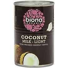 Biona Orgánica leche de coco Luz (9% de grasa) 400ml