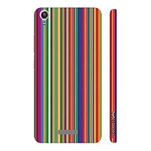 Enthopia Designer Hardshell Case Archies Stripes Back Cover for Lava Pixel V1