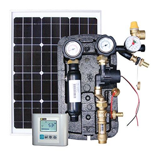 Steuersystem - stromversorgungssystem für Solarkollektoren FOTTON POWER-2DC