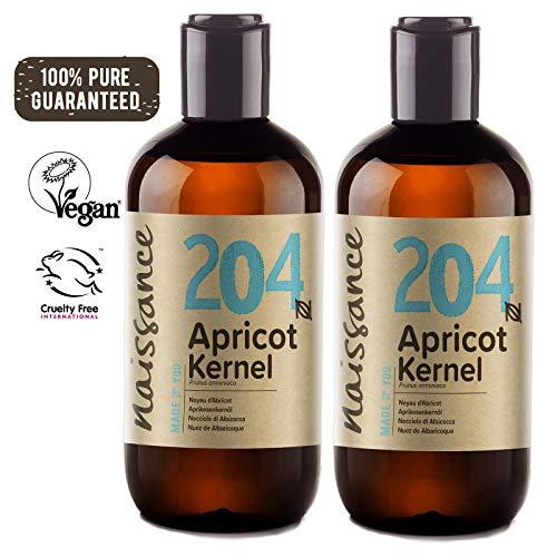 Preisvergleich Produktbild Naissance Aprikosenkernöl 500ml (2x250ml) zertifiziert 100% rein