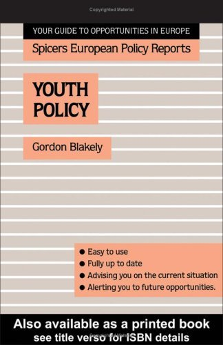 Youth Policy (Spicers European Policy Reports)
