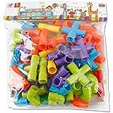 Pipeline Tunnel Blocks DIY  Bricks Toys Kids Educational Toy Pipe Blocks Training Toys Child Gift Family Board Game