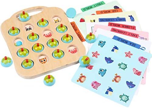 Amyove Jeux de réflexion réflexion réflexion Jouet éducatif pour bébé Jouet éducatif en Bois | Qualité Fiable  435533