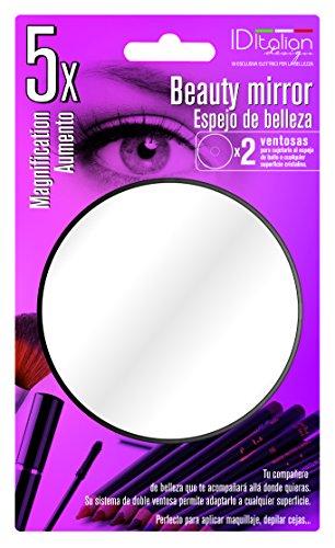 ID Italian Design-Specchio di bellezza con ingrandimento 5x-2ventose