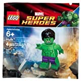 LEGO Marvel Super Heroes Exclusive Mini Figure Set #6001095 Hulk Tüte