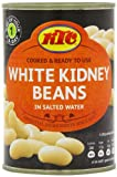 KTC White Kidney Beans Cannellini 400 g (Pack of 12)