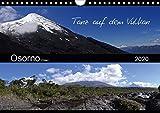 Tanz auf dem Vulkan - Osorno (Chile) (Wandkalender 2020 DIN A4 quer): Der chilenische Vulkan Osorno mit seinen umgebenen Wasserfällen, Seen und ... (Monatskalender, 14 Seiten ) (CALVENDO Natur) -