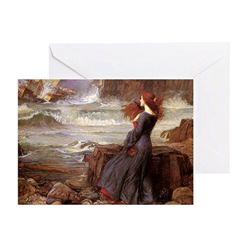 CafePress-Miranda The Tempest-Grußkarte, Note Karte, Geburtstagskarte, innen blanko, glänzend