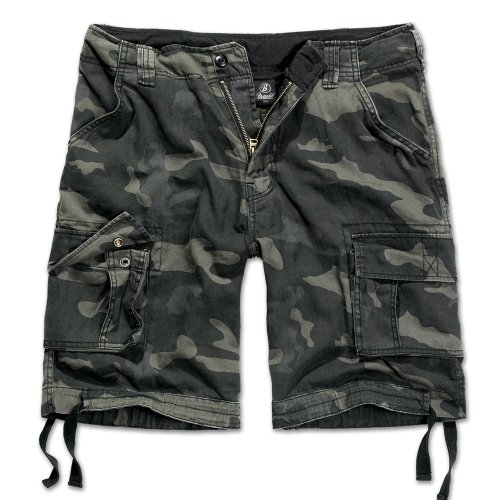 Brandit Herren Urban Legend Shorts, Mehrfarbig (Darkcamo 4), 70 (Herstellergröße: 6XL) (Cargo Kurze Hose)