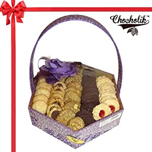 Chocholik Belgium Chocolate - Sweet Cookies Gift Hamper - Chocholik Belgium Gifts 600gm