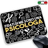 csminformatica - Alfombrilla de ratón Personalizable para Profesionales - Confíe en Me - Son una psicologa