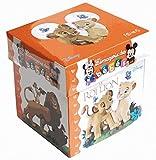 Coffret Le Roi Lion : Avec un cadre photo, 1 livre tout-carton et 4 cubes pour s'amuser