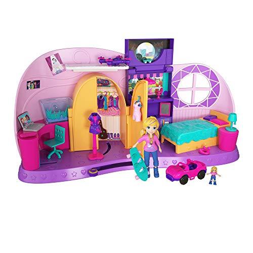 Juguetes Polly Pocket Gcn07 Pequeña Bolsillo Lugares Polly Fiesta De Pijamas