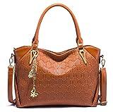 Casual Tote Schmetterling Kette Frauen Crossbody Taschen Handtaschen Frauen Berühmte Designer-Frauen-Tasche Brown 26cmX13cmX23cm