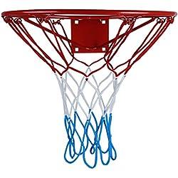 Tablero con canasta para entrenarse en baloncesto, de la marca Kimet