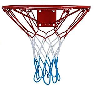 KIMET HangRing Basketballkorb Basketball Basketballring mit Ring und Netz...