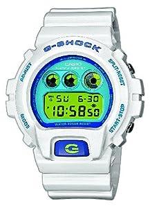 Reloj de caballero CASIO G-Shock DW-6900CS-7ER de cuarzo, correa de resina color blanco de Casio
