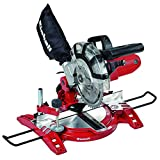 Einhell TH-MS 2112 Troncatrice, 1400 W (80 x 32 mm, 120 x 32 mm, 80 x 55 mm, 120 x 55 mm, 45 - 0°)