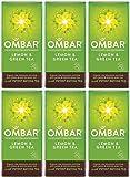 (6 PACK) - Ombar - Lemon & Green Tea Bar | 35g | 6 PACK BUNDLE from OMBAR