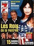 TELE 7 JOURS [No 2154] du 08/09/2001 - ASTRID VEILLON - DELON ET BELMONDO - LAURENCE FERRARI - DAPHNE ROULIER - DANIELA LAMBRONSO.