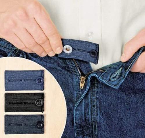 Home-x Easy Fit botones para Jeans. Añadir 1 2 o 2 pulgadas 5080866a168