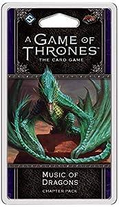 Fantasy Flight Games FFGGT34 Paquete de música de Dragones de los capítulos: Game of Thrones LCG