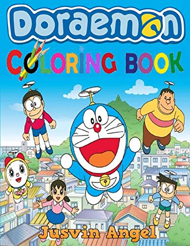 Doraemon Coloring Book: For Kids Ages 4-8