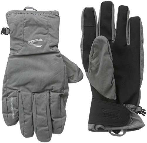 Camel Active Herren Handschuhe 4G35, Grau (Grau/Dunke 7), Medium