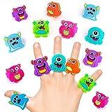 German Trendseller Monster Ring für Kinder ┃ Monsterparty ┃ Mitgebsel ┃ Kindergeburtstag ┃ Geburtstag ┃ Party - Schmuck - Ringe - Monster