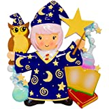Best Hallmark Kids Costumes - Personalized Wizard Girl Christmas Ornament - Fictional Witchcraft Review