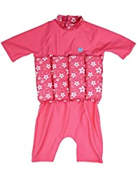 Splash About Baby Sun Protection UV Float Suit-Pink Blossom, 4-6 Years