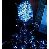 GTC Decoration Rice Lights 8 METRE Long For - Diwali Lights/Festival Lights/Wedding Lights/Gifting Lights/Christmas Lights/New Year Lights (Blue)