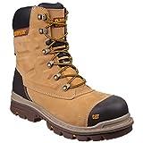 Caterpillar Premier - Chaussures de sécurité imperméables - Adulte mixte (42 EU) (Miel)