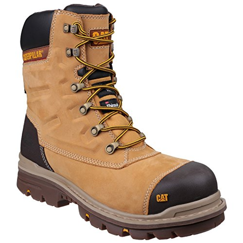 Caterpillar Premier - Chaussures de sécurité imperméables - Adulte mixte (44 EU) (Miel)