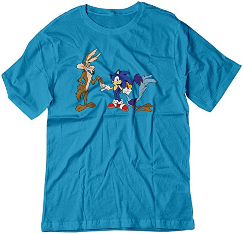 bsw-mens-roadrunner-coyote-pays-sonic-looney-shirt-2xl-sapphire