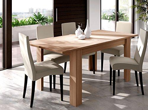 Esidra tavolo pranzo allungabile, legno tipo ciliegio, 140/190 x 78 x 90 cm